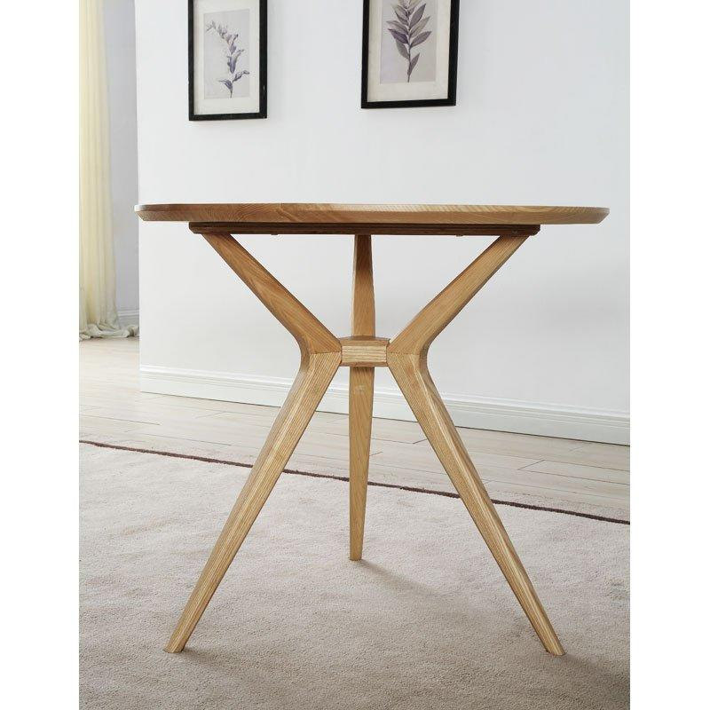Simple Natural Wood Coffee Shop Tea Table DB002