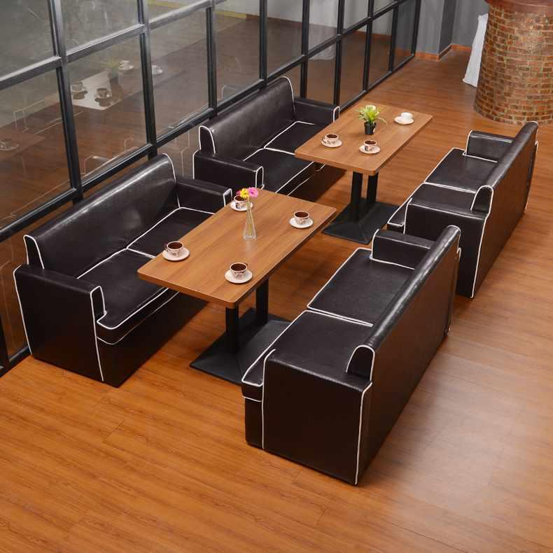 Contemporary Hotel Furniture Luxury Sofa And Dining Table Group SE004-1