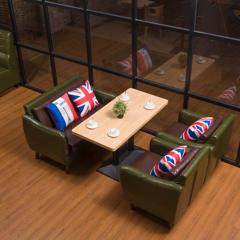 Luxury Hotel Furniture Restaurant Table And Sofa Sets SE005-3