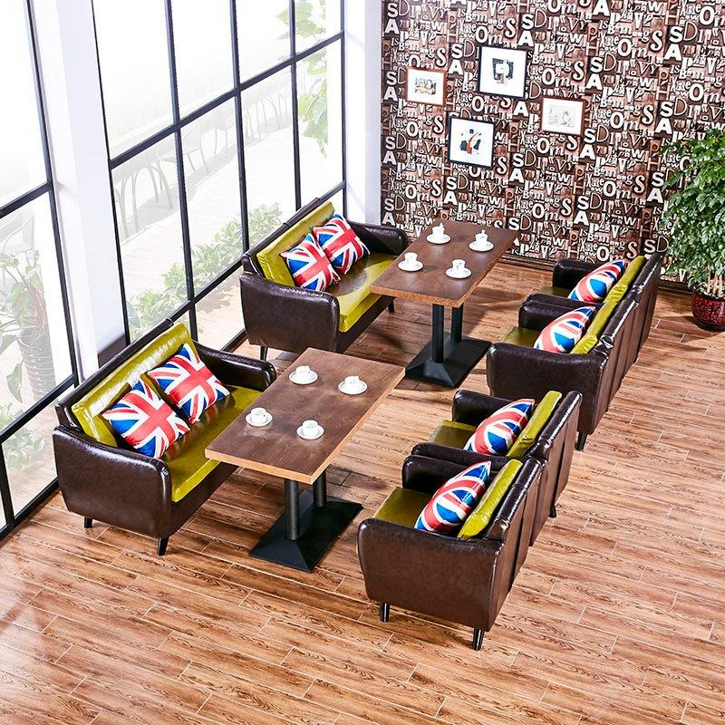 Modern Indoor Coffee Shop Furniture Lounge Standing Dining Table Sets SE005-9