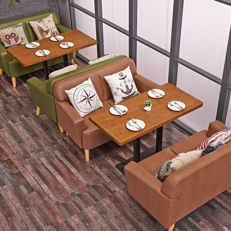 Nostalgic Hotel Furniture Reception Sofa And Table Group SE006-2
