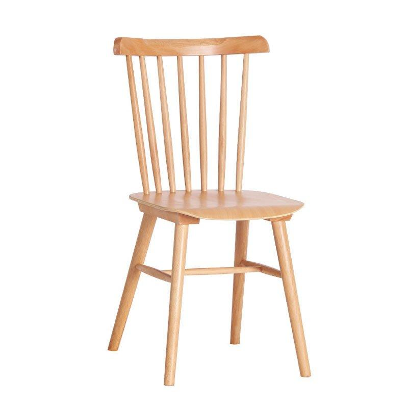 Scandinavian Design Wooden Windsor Chair Coffee Shop Chair CA001