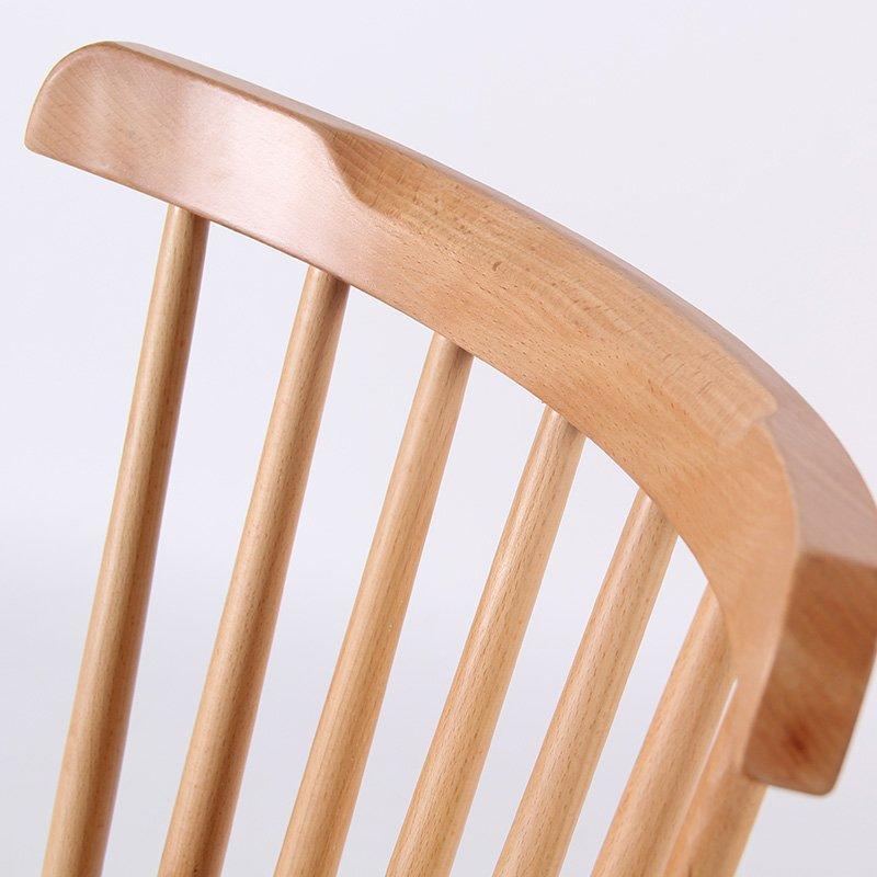 Scandinavian Design Wooden Windsor Chair Coffee Shop Chair CA001