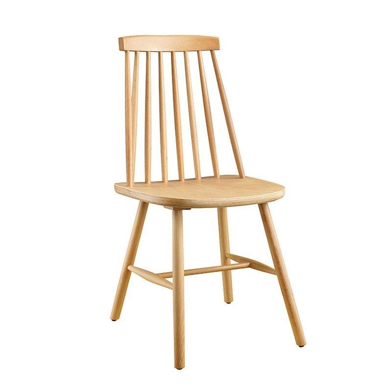 Nordic Style Solid Wood Windsor chair Restaurant Seating CA003