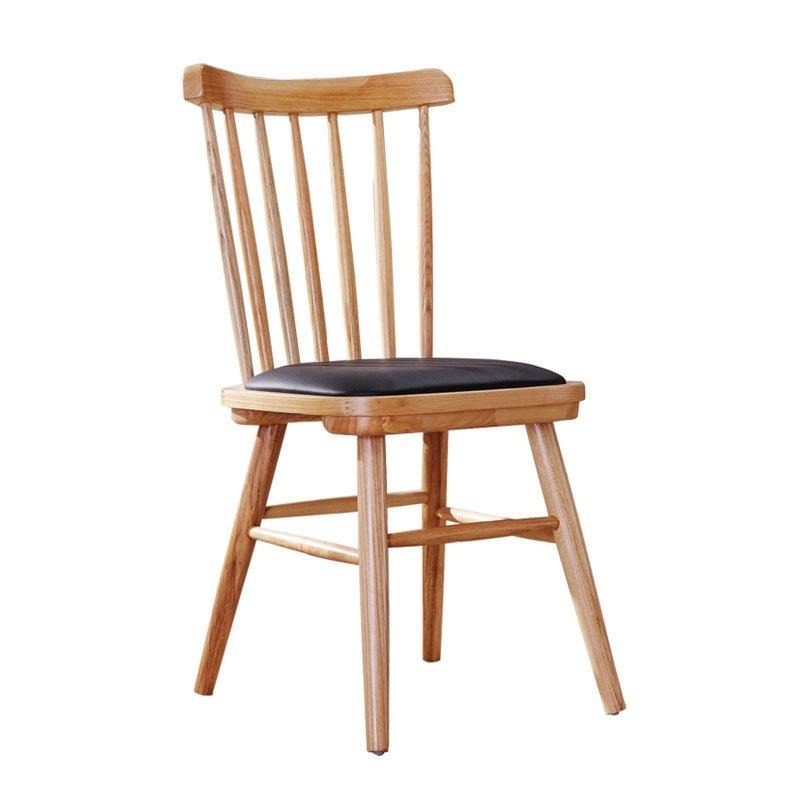 Nordic Solid Wood Windsor Chair Coffee Shop Dining Chair CA002