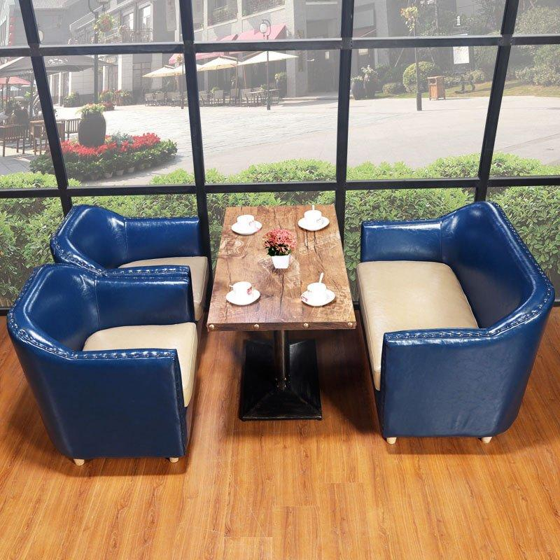 Retro Dining Table And Chairs Bakeshop And Restaurant Seating SE012-6
