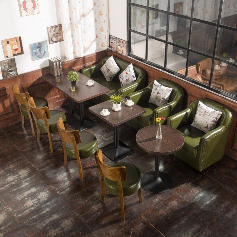 Retro Commercial Furniture Bar And Restaurant Dining Seating SE012-9