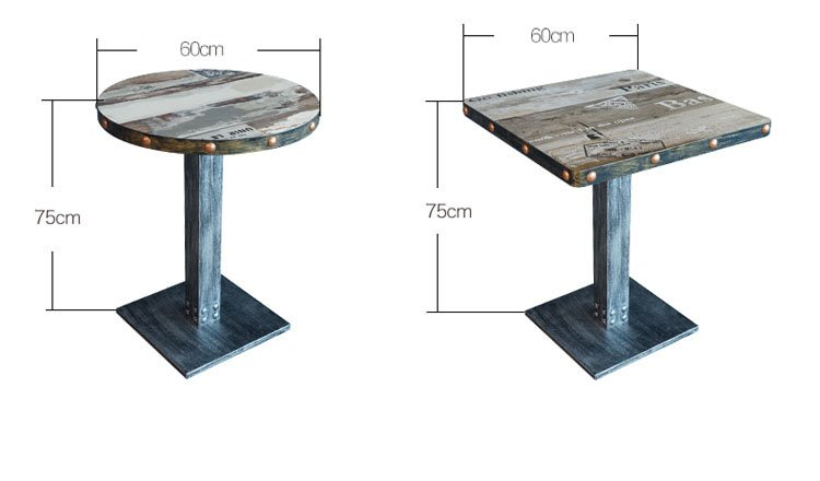 small round restaurant tables
