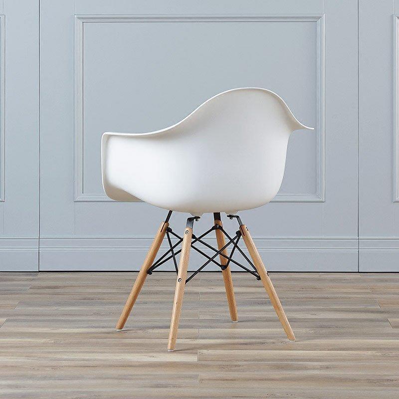 Modern Eames Armrest Chair Restaurant Dining Chair CD002