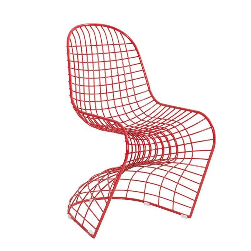 Modern Fashion Pantone Chair Coffee Shop Iron Chair CE002