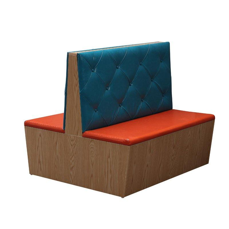 Modern Fast Food Restaurant Bench Seating And Table SJ001-4