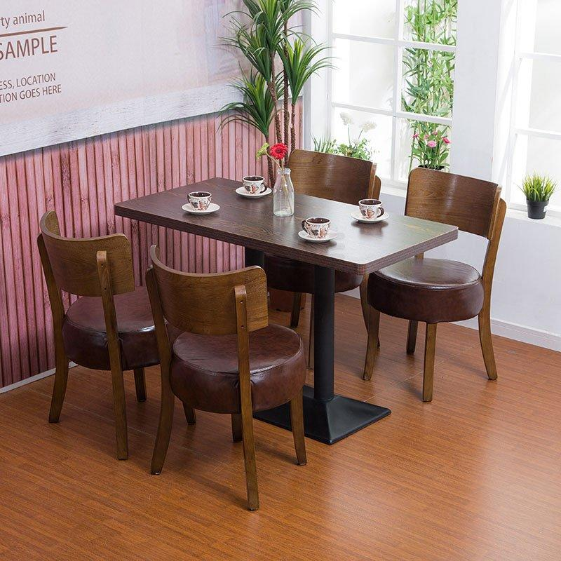 Contemporary Coffee Shop Wooden Tables And Chairs GROUP10