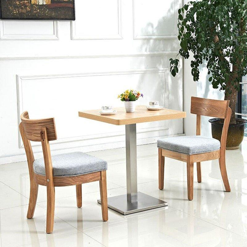 Commercial Wooden Tables And Chairs For Coffee Shop GROUP15