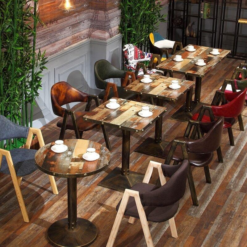 Industrial Restaurant And Pub Iron Table Chair GROUP41
