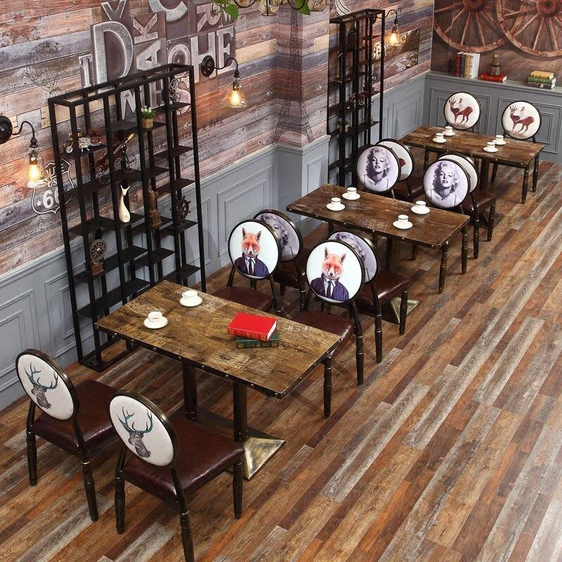 Antique Style Hot Pot Restaurant Dining Furniture GROUP44