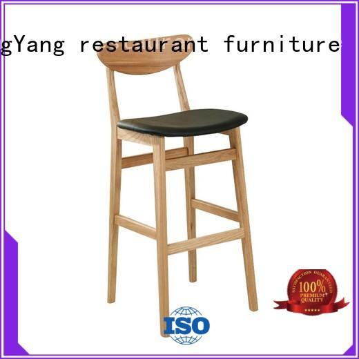 Hot metal counter stools simple ShengYang restaurant furniture Brand
