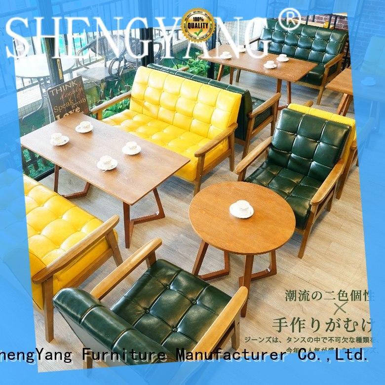 ShengYang restaurant furniture se0034 restaurant dining furniture wholesaler