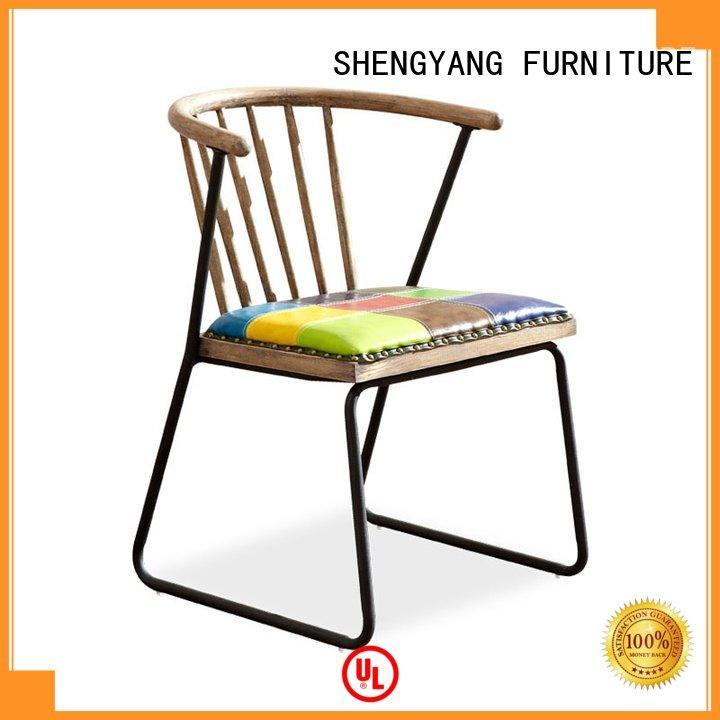 industrial dining chairs metal ShengYang Brand industria chairs