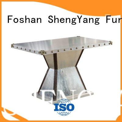 industrial dining table round ShengYang Brand industrial table