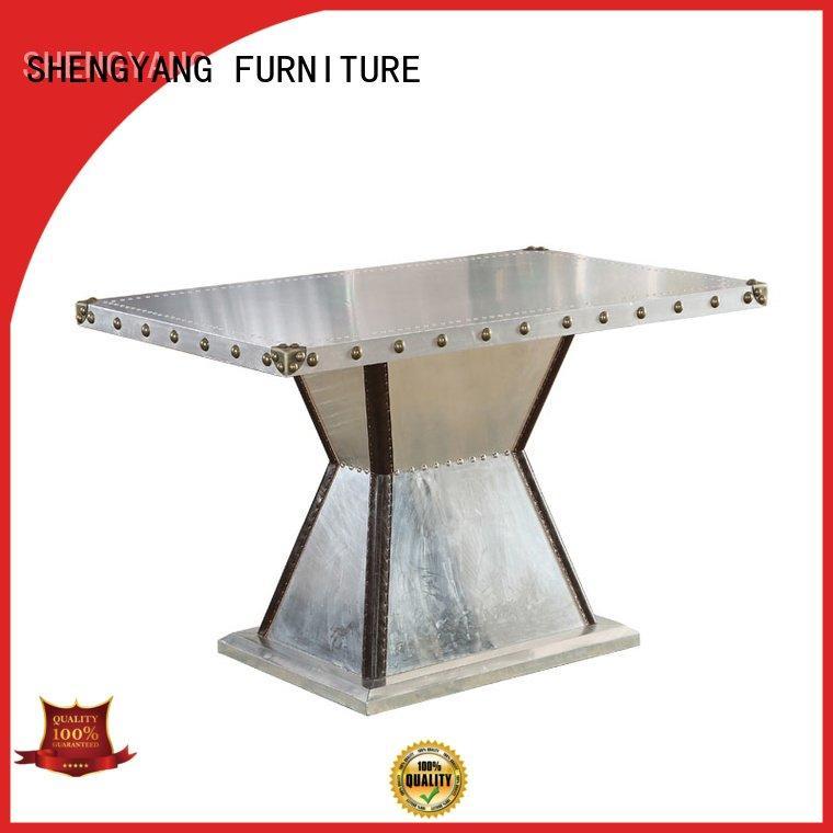 ShengYang industrial table coffee tc005 handmade aluminum