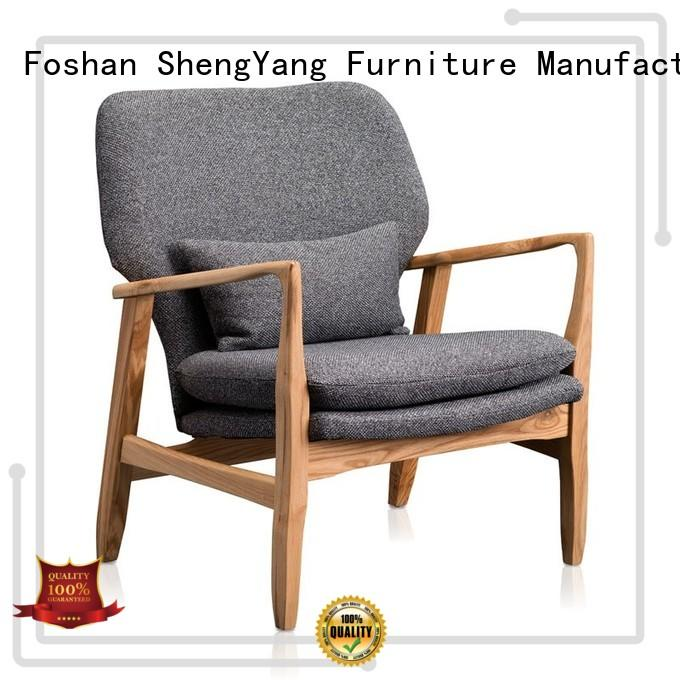 ShengYang restaurant furniture Brand double modern leather recliner chairs