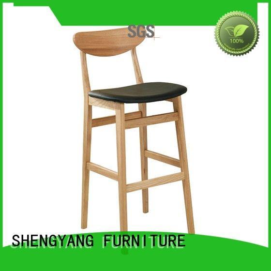 metal counter stools ba001 solid soft simple ShengYang