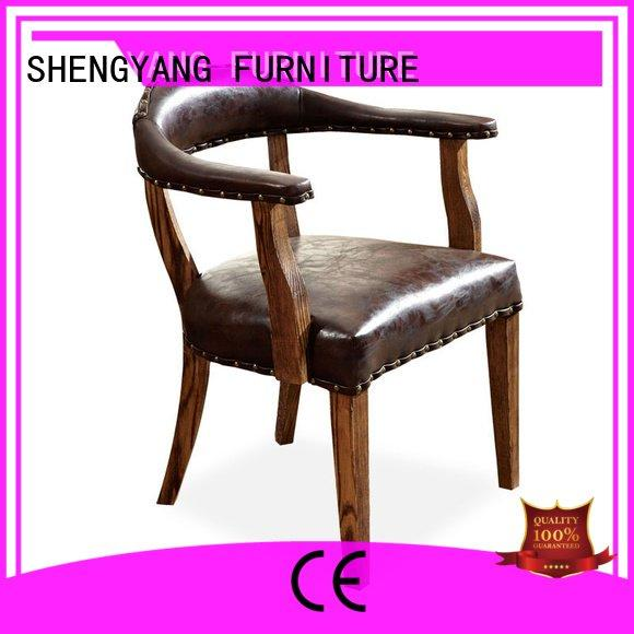 industrial dining chairs retro design OEM industria chairs ShengYang