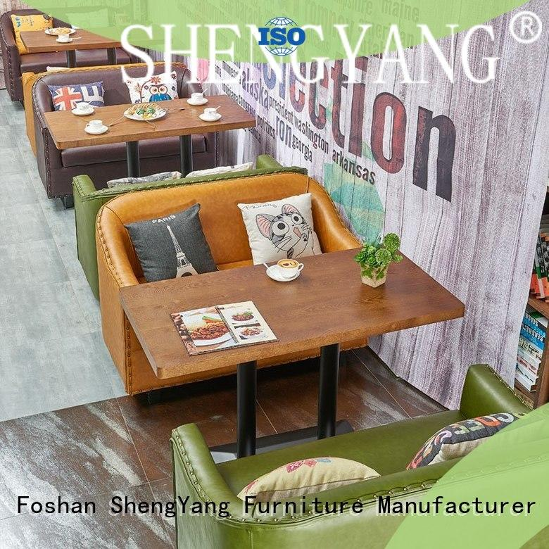 ShengYang restaurant furniture loft circular banquette seating factory for VIP lounge