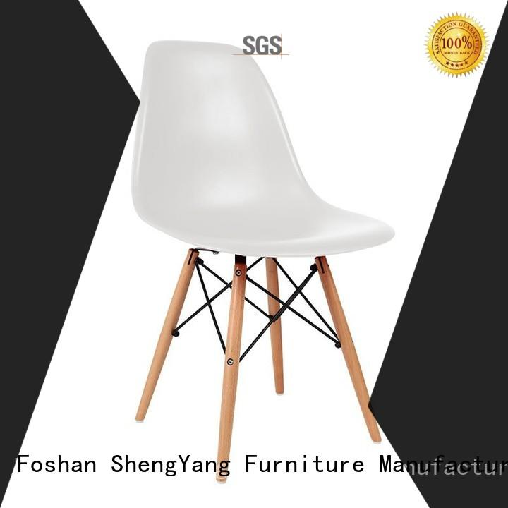 soft mat plastic outdoor chairs eames armrest ShengYang restaurant furniture Brand