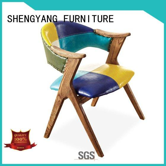 industrial dining chairs restaurant retro colorful banquet ShengYang