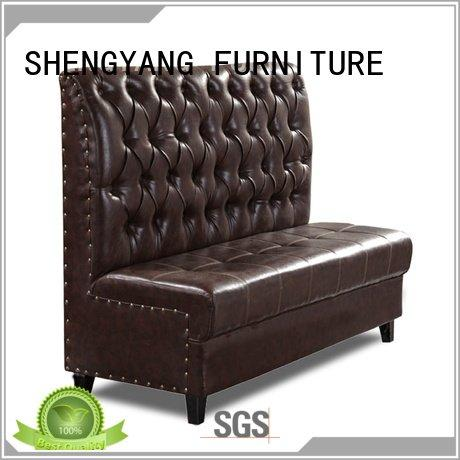 cafe bench ShengYang Brand booth