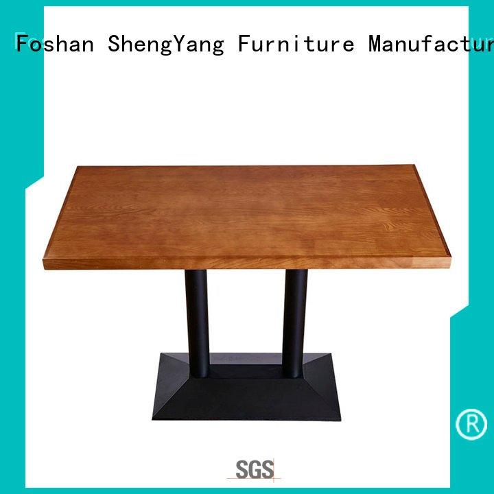 Wholesale contemporary rectangular table ShengYang Brand