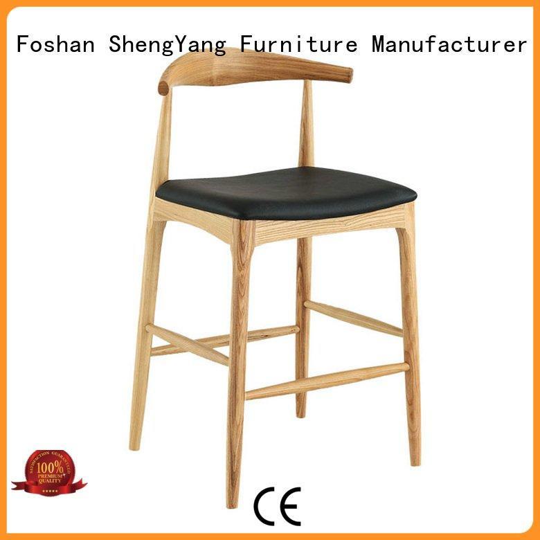 OEM bar stools simple nordic metal counter stools