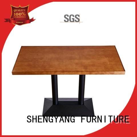 long dining table ShengYang restaurant furniture Brand