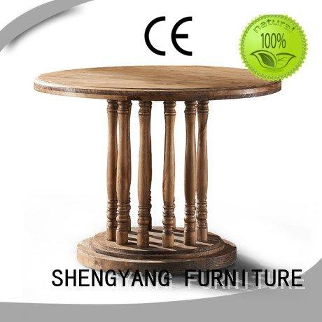 industrial dining table catering aluminum rectangles rivet Bulk Buy