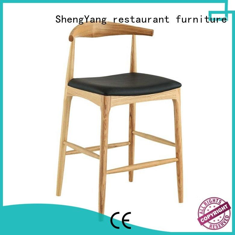 ShengYang restaurant furniture Brand ba001 simple metal counter stools