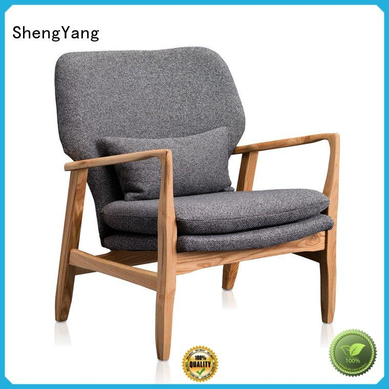 OEM leather recliner chairs linen fabric style leisure furniture