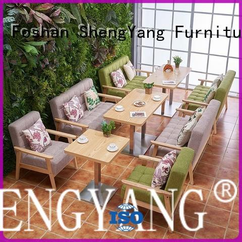 ShengYang restaurant furniture classic bar furniture suppliers solution expert