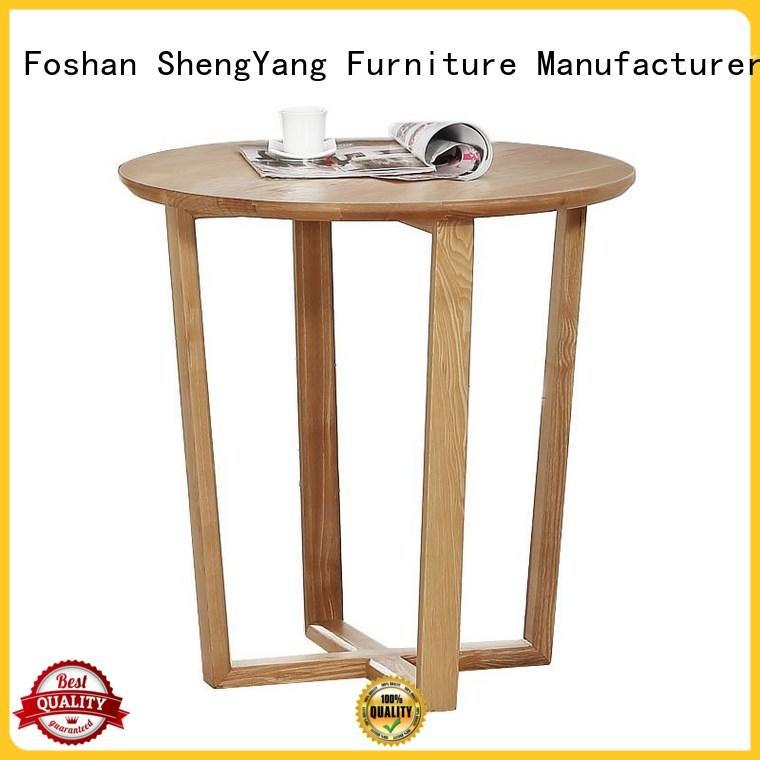 Modern Fashion Round Coffee Table Wooden Tea Table DB001