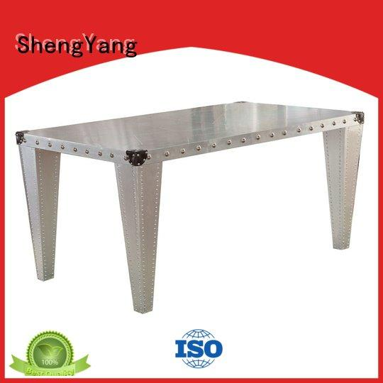 industrial dining table wood table retro iron Bulk Buy
