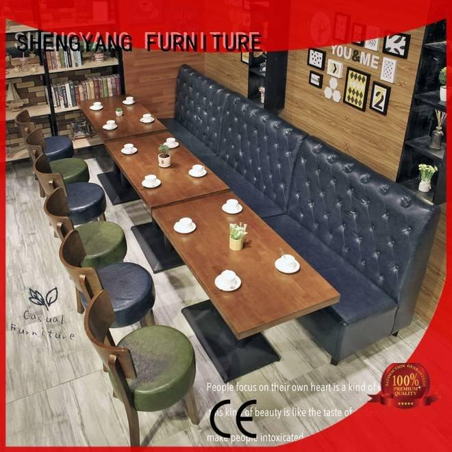 booth dining table reception booth ShengYang Brand