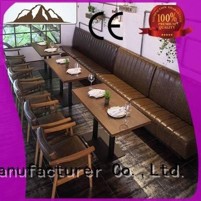 booth dining table restaruant plywood furniture ShengYang Warranty