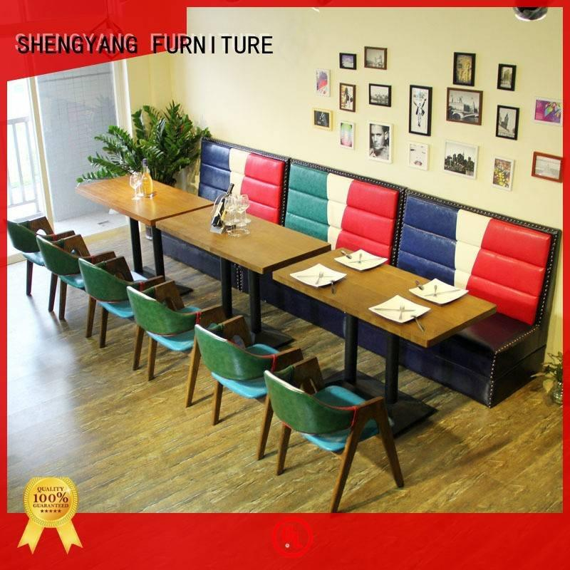 eatery furniture ShengYang booth dining table