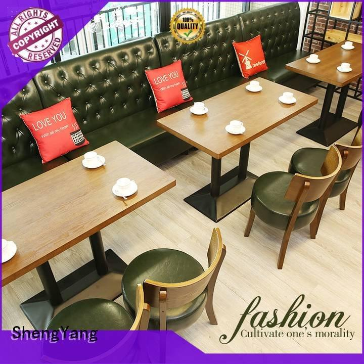 circular concise booth dining table ShengYang