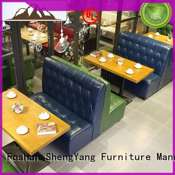 booth dining table leisure plywood solid ShengYang