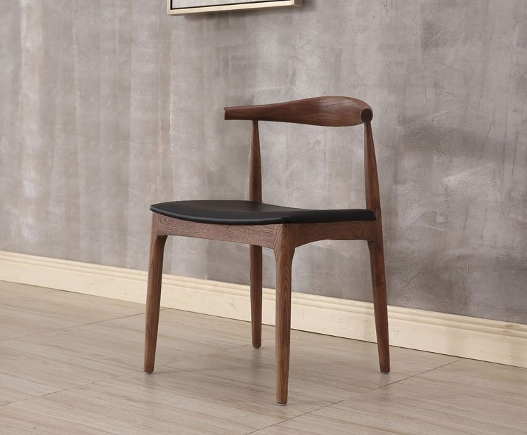 chair with wooden legs