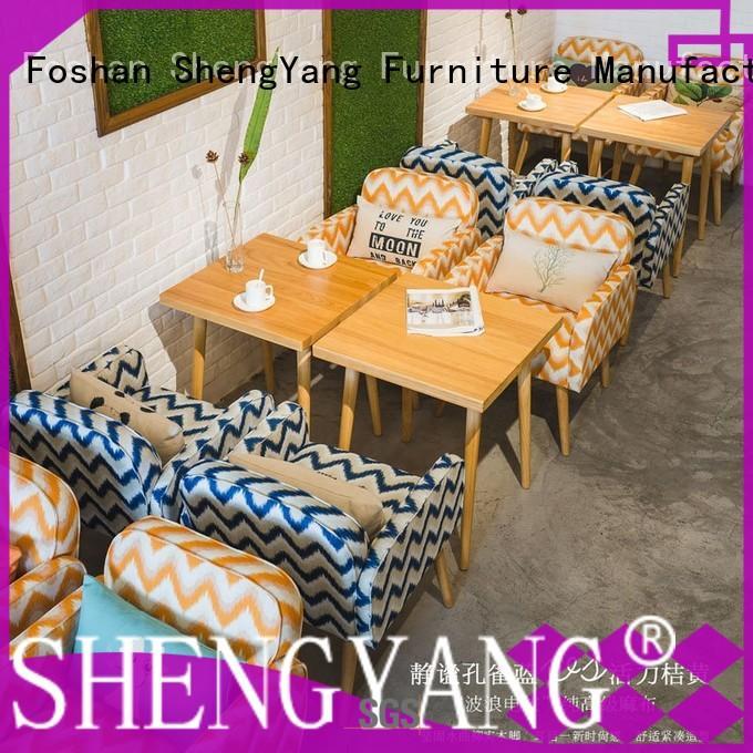 ShengYang restaurant furniture group2 cafeteria furniture trader for restaurant
