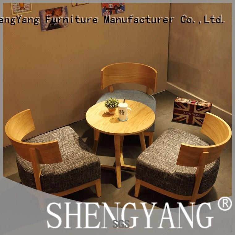 ShengYang restaurant furniture commercial canteen furniture international trader for restaurant