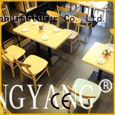 ShengYang restaurant furniture commercial restaurant dining furniture trader for coffee house