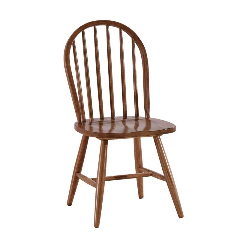 Nordic Style Coffee Shop Dining Wooden Windsor Chairs CA005